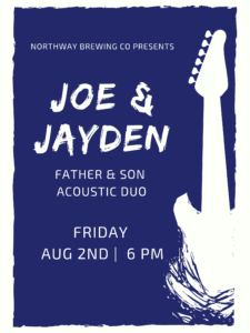 Live Music by Joe & Jayden: Father & Son Acoustic Duo