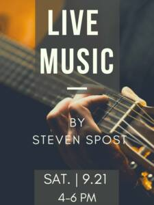 Live Music by Steven Spost