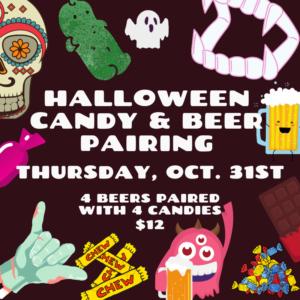 Halloween Candy & Beer Pairing